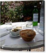 Garden Lunch Mallorca Acrylic Print