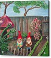 Garden Magic Acrylic Print