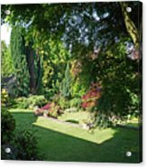 Garden Morning Acrylic Print