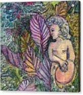 Garden Muse Acrylic Print