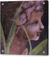 Garden Nymph Acrylic Print
