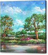 Summer In The Garden Of Eden Acrylic Print