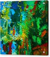 Garden Of Possibilities Acrylic Print by Lorna Ritz