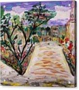 Garden Of The City Acrylic Print