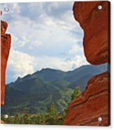 Garden Of The Gods - Colorado Springs Acrylic Print