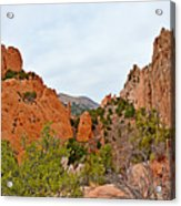 Garden Of The Gods Study 6 Acrylic Print