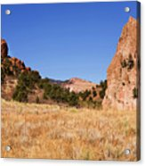 Garden Of The Gods View Acrylic Print