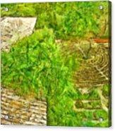 Garden Of The Simple Acrylic Print