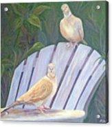 Garden Pals Acrylic Print