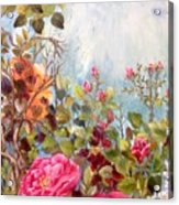 Garden Party/left Portion Acrylic Print