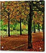 Garden Path, Schloss Biebrich Acrylic Print