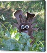 Garden Peek-a-boo Acrylic Print