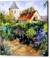 Garden Pleasures Acrylic Print