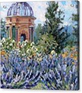 Garden Profusion - Lavendar Acrylic Print