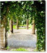 Garden Ruins Acrylic Print