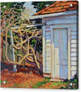 Garden Shed Acrylic Print