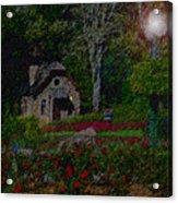 Garden Sleeping Acrylic Print