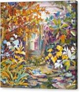 Garden Study Acrylic Print