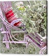 Garden Tea Acrylic Print