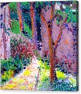 Garden Tour Acrylic Print