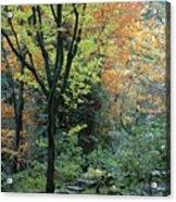 Garden Trees Acrylic Print