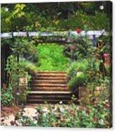 Garden Trellis Acrylic Print