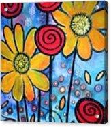 Garden View 3 Acrylic Print
