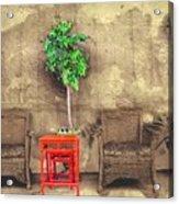 Garden View Series 37 Acrylic Print