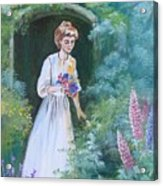 Garden Walk - B Acrylic Print