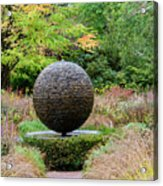 Garden Water Feature Acrylic Print