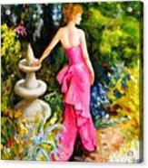 Garden1 Acrylic Print
