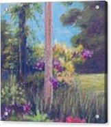 Gardener's Dream Acrylic Print