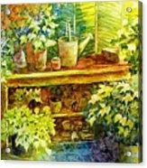 Gardener's Joy Acrylic Print