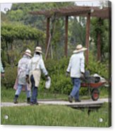 Gardeners Acrylic Print