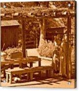 Gardiner Cabin - Circa 1800's Acrylic Print