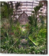 Garfield Park Conservatory Reflecting Pool Acrylic Print