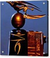 Gargoyle Hood Ornament 3 Acrylic Print