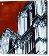 Gargoyle Pop Art Acrylic Print