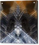 Gargoyle Priestess  Acrylic Print