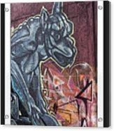 Gargoyle Madness Acrylic Print