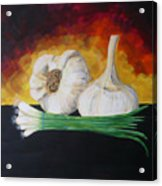Garlic And Onion Acrylic Print
