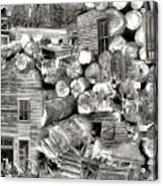Garnet Montana Acrylic Print