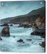 Garrapata Beach, Big Sur, California Acrylic Print