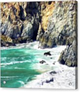 Garrapata Highlands 5 Acrylic Print