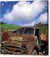 Garrod's Old Truck Acrylic Print