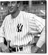 Gary Cooper As Lou Gehrig In Pride Of The Yankees 1942 Acrylic Print