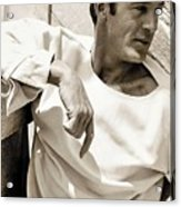 Gary Cooper Photo By George Hoyningen-huene 1934 Acrylic Print