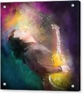 Gary Moore 01 Acrylic Print