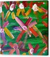 Gary's Flowers Acrylic Print