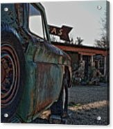 Gas And Truck Acrylic Print